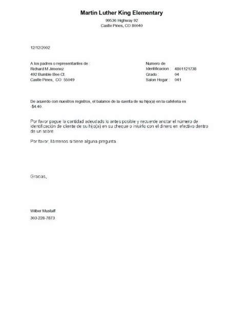 Customer Open Balance Letter Negative Balance Letter