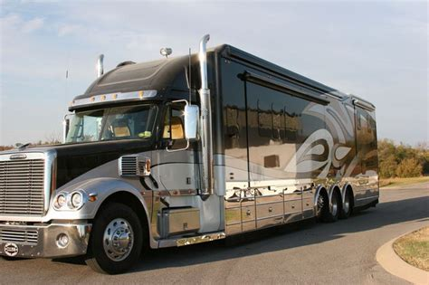 luxury semi trucks 17 best images about truck motorhome conversions on