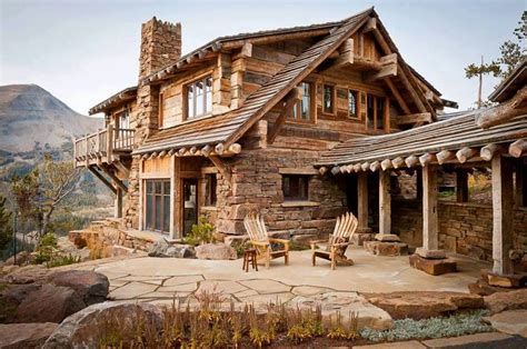 love this porch log cabin lodge pinterest rustic cabin barn homes and cabins pinterest