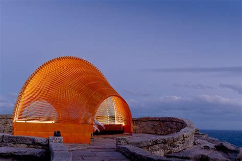 Designboom Sculpture By The Sea | nicole larkin sites experiential sculpture near sydney beach