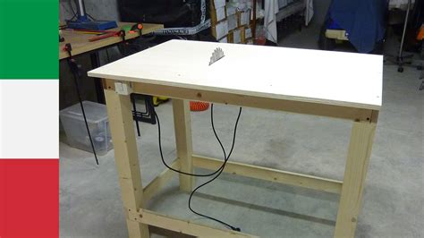 how to make a table saw bench making a homemade table saw part 1 youtube