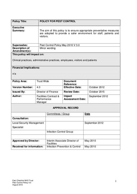 pest policy template pest 1782