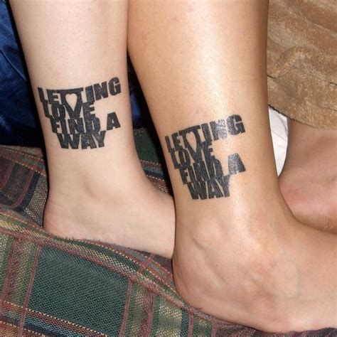 tattoo of boyfriend s lips 20 cute boyfriend and girlfriend tattoos sheideas