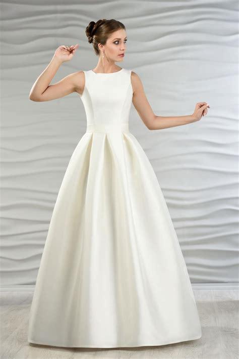 Brautkleider Jacke by Satin Brautkleid Mit Jacke Und Kellerfalten Kleiderfreuden