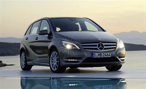 mercedes benz  class begins small car sales assault