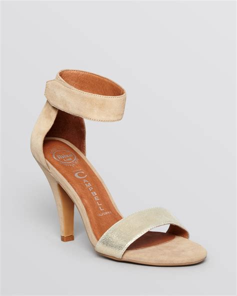 gold high heels with ankle ankle sandals heels metallic gold gold sandals heels