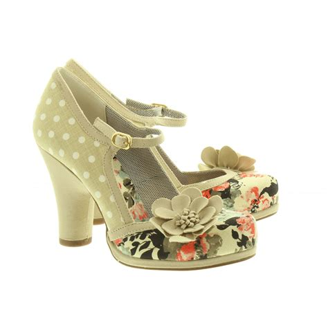 Shoo Shop ruby shoo bar shoes in beige in beige