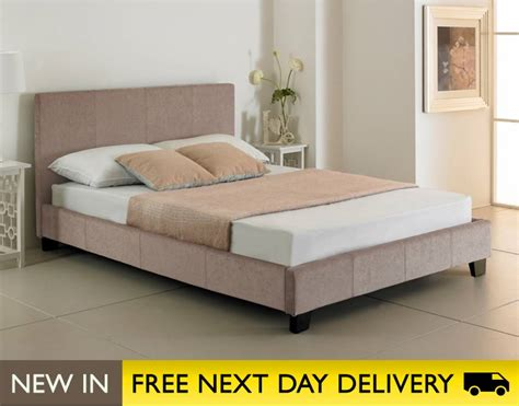 king bed sale valencia 5ft king size natural stone fabric bed sale