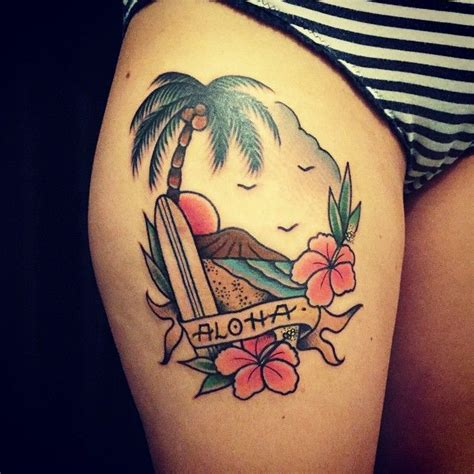 hawaiian island tattoo designs best 25 hawaii tattoos ideas on hawaiian