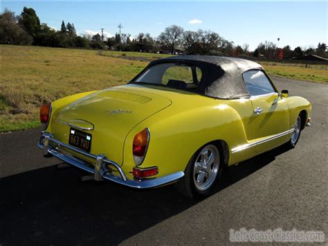 1971 karmann ghia 1971 volkswagen karmann ghia convertible for sale