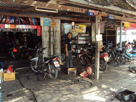G Nstige Motorrad Werkstatt Hamburg die g 252 nstige motorradwerkstatt in thailand