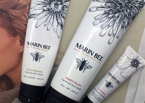 Marin Bee Company Detox Masque by Marin Bee Honey Skincare Giveaway Local California