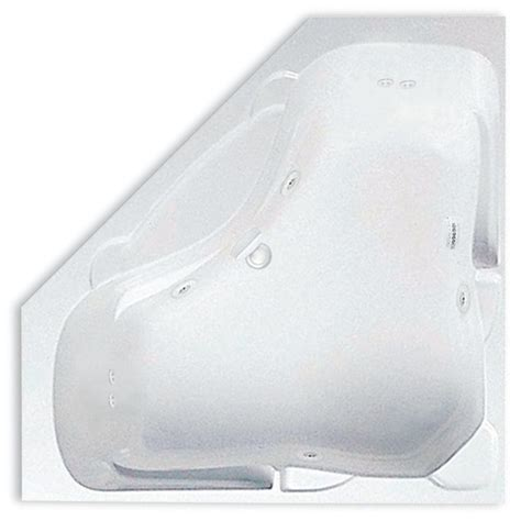 bathtub drain location aquatic preakness 5 ft center drain corner acrylic