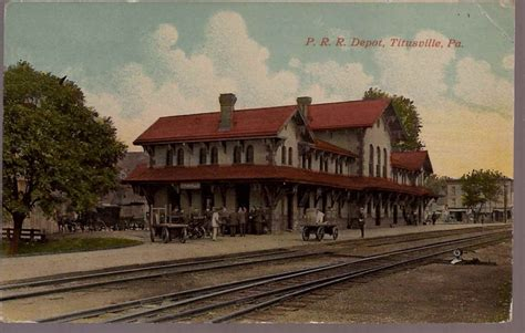 ppc titusville pa pennsylvania railroad depot