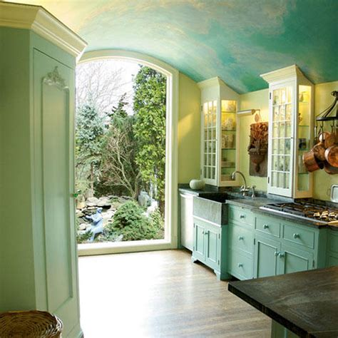painted blue kitchen cabinets beautiful sky blue kitchen painted cabinets soft green