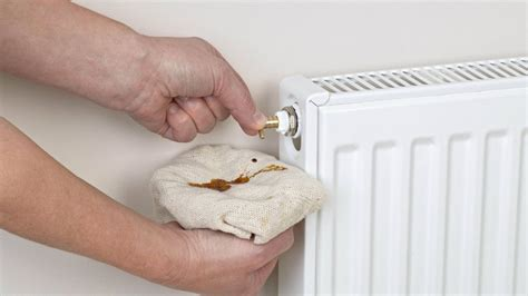 bleeding  radiator   central heating system