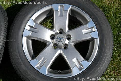 Toyota Oem Tires 2012 Toyota Rav4 Oem 18 Quot Wheels Runflat Tires Tacoma Camry