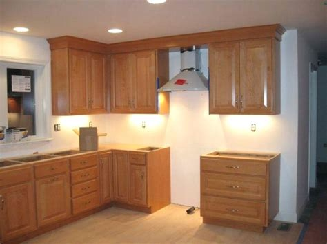 how to install crown moulding on top of kitchen cabinets how to install crown molding on cabinet crown molding