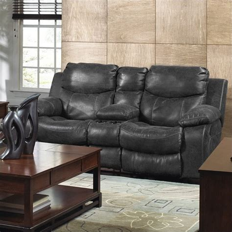 catnapper power recliner loveseat catnapper leather power reclining console