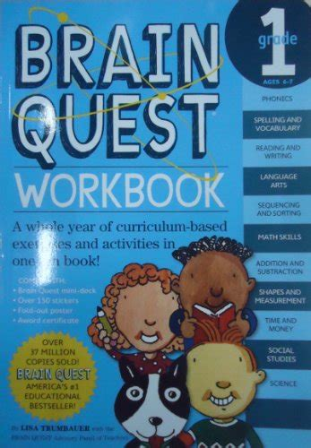 Brain Quest Workbook Grade 2 Ages 7 8 With 150 Stickers images