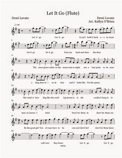 free printable sheet music let it go flute sheet music let it go sheet music