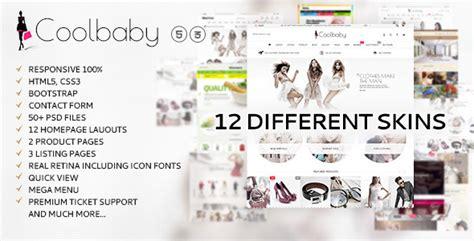 Mythemeshop Report V1 1 8 coolbaby v1 0 3 fashion ecommerce html theme premium
