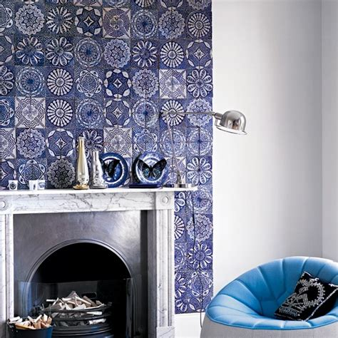Decorating Ideas For Living Room With Chimney Breast Tile A Chimney Breast Easy Living Room Updates In A