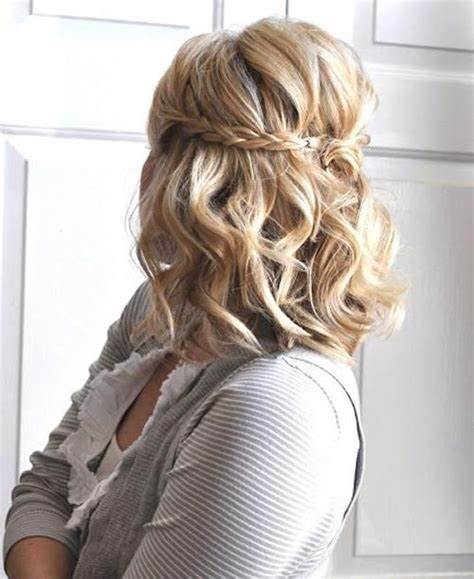cute trendy updo hairstyles for tweens 15 ideas of cute short hairstyles for homecoming