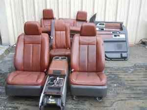 king ranch leather seats page 2 ford expedition forum
