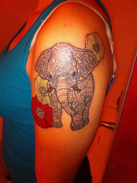elephant tattoo on lower stomach 17 best images about tattoos i love on pinterest