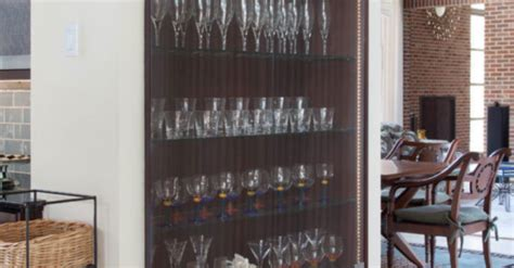 installing glass in kitchen cabinet doors install glass kitchen cabinet doors to display your stemware
