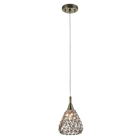 Light Mini Pendant Home Decorators Collection 1 Light Antique Bronze With Cognac Shade Mini Pendant 16889