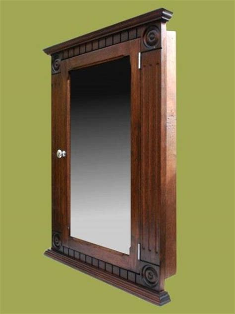 48 wide recessed medicine cabinets walnut recessed medicine cabinet rosette clasic style ebay