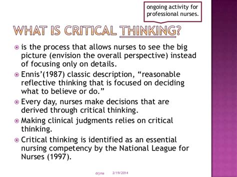 What Is A Critical Thinking Essay by Critical Thinking Attitudes Nursing 100 Original Papers Www Apotheeksibilo Apotheek