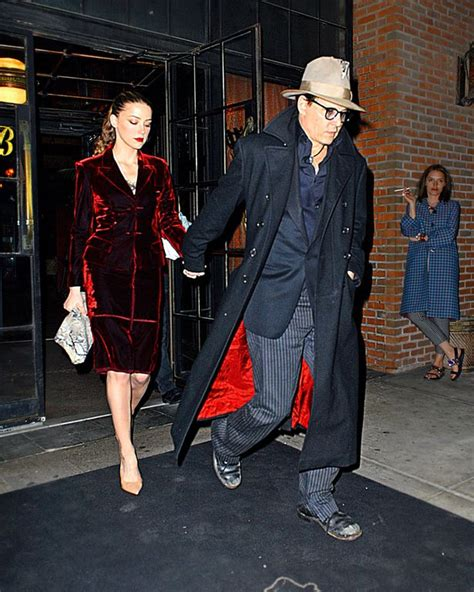 amber heard news pictures and videos e news johnny depp treats amber heard to early birthday dinner