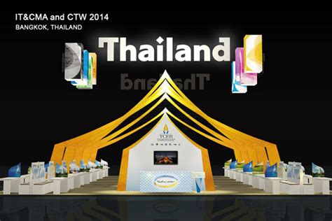 booth design thailand let s meet at thailand pavilion booth no b 1 in it cma