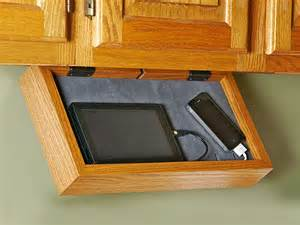cell phone charging cabinet phone charging station if your kitchen counter turns into a rat s nest of charging cords for
