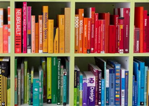 arranging your books by color is not a moral failure