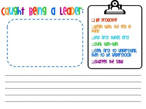 Leader In Me Worksheets by 116 Best 7 Habits Leader In Me Kindergarten Images On