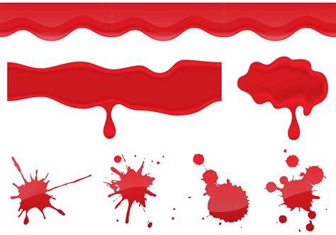blood vectors free vector stock