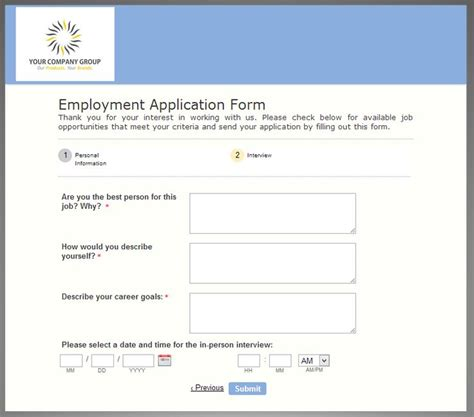 design online application form the helpful employment application form tuesday template
