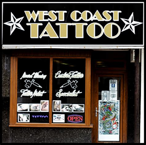 west coast tattoo parlor contact west coast tattoos in blackpool