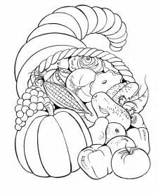 thanksgiving color sheets free coloring pages thanksgiving cornucopia coloring pages