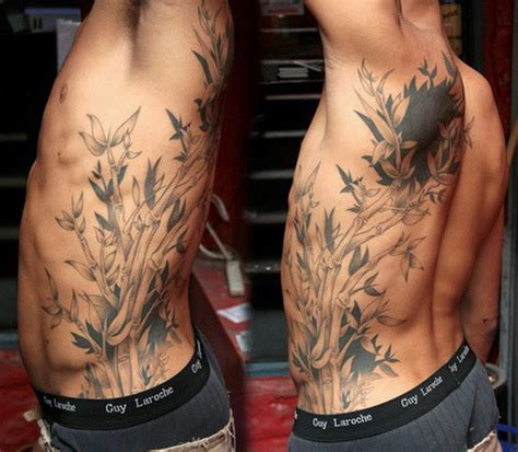 bamboo tattoos 50 bamboo designs for lush greenery ink ideas