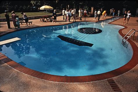 guitar shaped swimming pool guitar shaped swimming pool nashville by jones tony