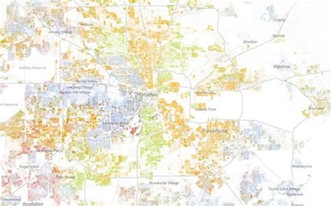 houston diversity map as country grows more diverse map shows houston s