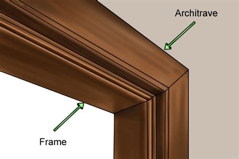 How To Fit Door Lining by How To Fit Door Architrave