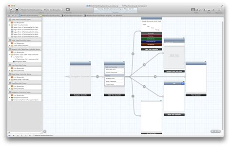 storyboard tutorial for xcode 6 ios 5 sdk storyboards