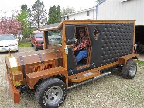 wooden truck bangshift com wooden car