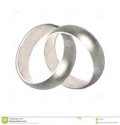 wed rings linked wedding rings stock images image 8352924
